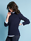 GANT - Rundhals-Pullover aus 100 % Wolle