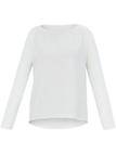 Samoon - Blusen-Shirt im Material-Mix