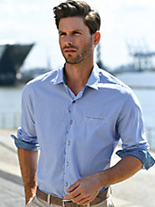 Pierre Cardin - Hemd mit Kent-Kragen