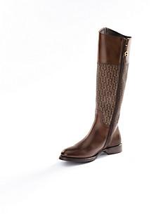 Aigner - Langschaft-Stiefel aus Kalbsnappaleder