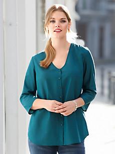 Anna Aura - Bluse mit 3/4-Arm und V-Ausschnitt