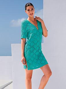 Fürstenberg - Spitzen-Kleid mit 1/2-Arm