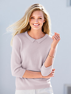 include - Pullover aus 100% Kaschmir mit 3/4-Arm