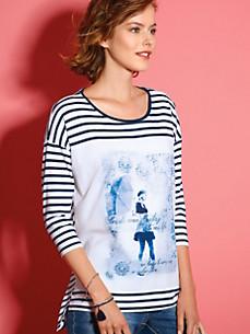 Looxent - Rundhals-Shirt  mit 3/4-Arm