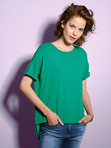 Looxent - Rundhals-Shirt mt 1/2-Arm