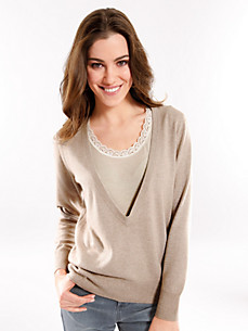 Peter Hahn - V-Pullover – Modell CLAIRE