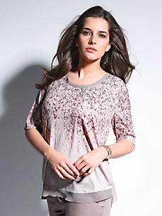 Samoon - Rundhals-Shirt mit längerem 1/2-Arm