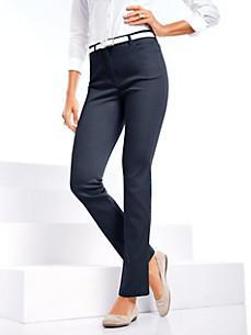 Toni - Hose mit hinten angeschnittenem Bund