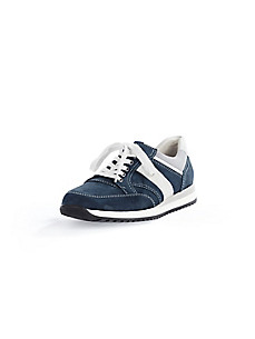 Waldläufer - Sneaker aus Rindsnubukleder