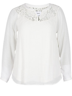 zizzi - Doppellagige  Bluse