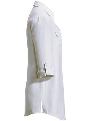 Anna Aura - Bluse mit 1/1-Arm in reinem Leinen