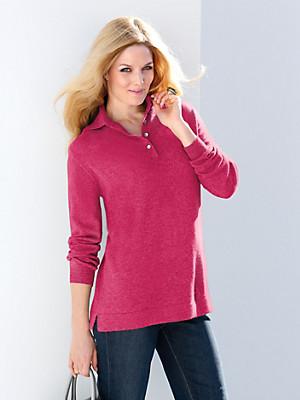 Anna Aura - Polo-Pullover aus reinem Kaschmir – Modell PEGGY