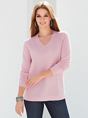 Anna Aura - V-Pullover aus reinem Kaschmir – Modell VERA
