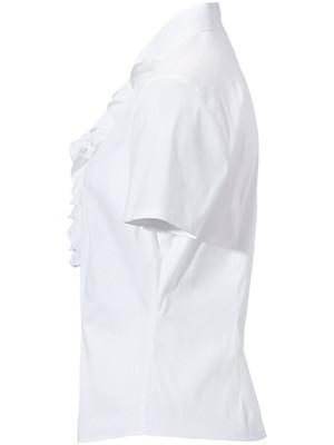Basler - Bluse mit 1/2-Arm und V-Ausschnitt
