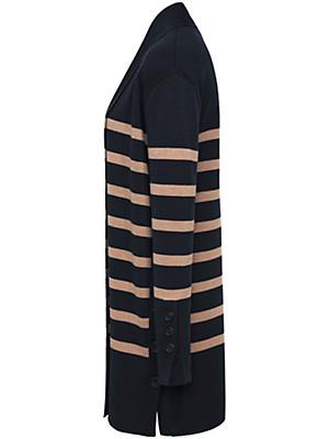 Basler - Long-Strickjacke aus 100% Schurwolle