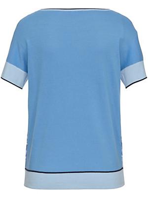Basler - Strick-Shirt mit überschnittener Schulter