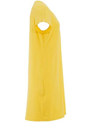Charmor - Freizeit-Kleid mit V-Ausschnitt und 1/4-Arm