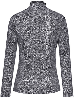 Efixelle - Shirt mit einem gedoppelten Stehkragen