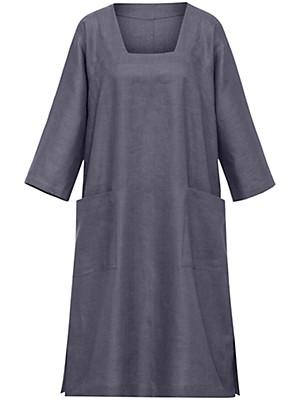 Emilia Lay - Kleid mit 3/4-Arm aus 100% Leinen