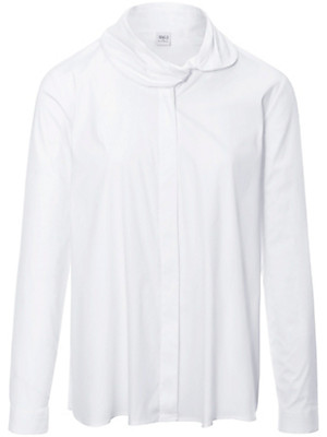 Eterna - Bluse mit Schalkragen