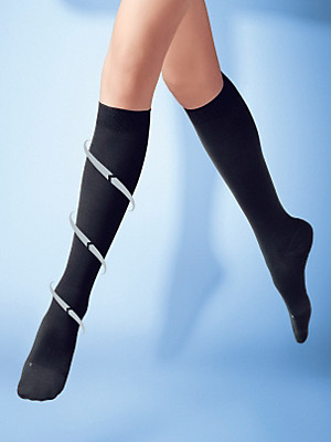"Falke - Strickkniestrumpf ""Leg Energizer Strong Knee-High"""