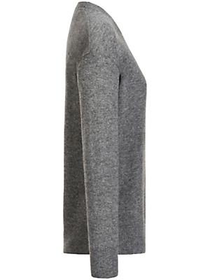 FLUFFY EARS - Rundhals-Pullover aus reinem Kaschmir
