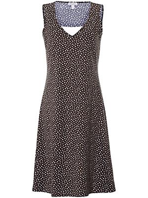 Green Cotton - Träger-Kleid mit Pünktchen-Druck