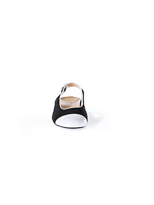 hassia sling ballerina schwarz wei. Black Bedroom Furniture Sets. Home Design Ideas