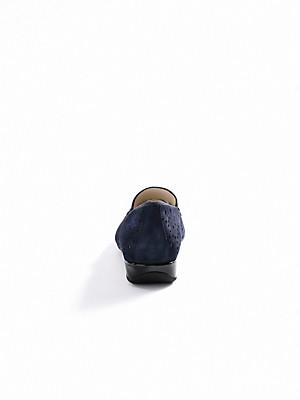 Hassia - Slipper aus Ziegenveloursleder