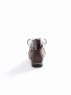 Hassia - Stiefelette aus Ziegenveloursleder