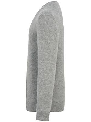 Inkadoro - V-Pullover in 100% Alpaka