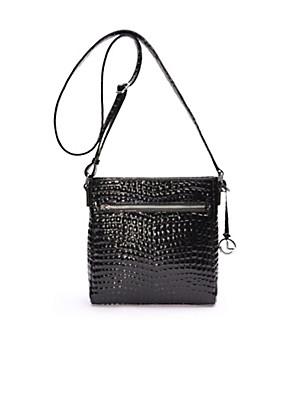 L. Credi - Handtasche aus Lackleder