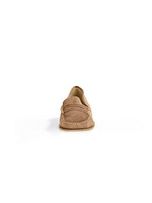 Ledoni - Mokassin aus Kalbsveloursleder