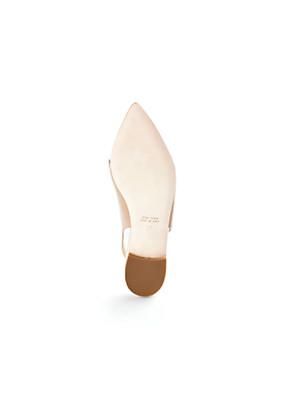 Ledoni - Sling-Ballerina aus feinstem Lammnappaleder