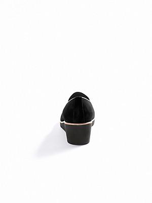Ledoni - Slipper aus Kalbsveloursleder