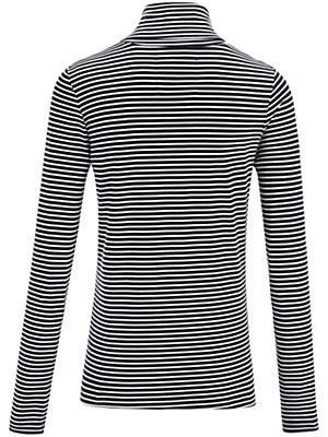 LIEBLINGSSTÜCK - Rolli-Shirt mit feinen Ringeln