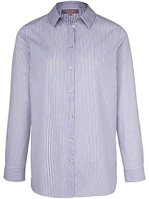 LIEBLINGSSTÜCK - Streifen-Bluse in extralangem Schnitt