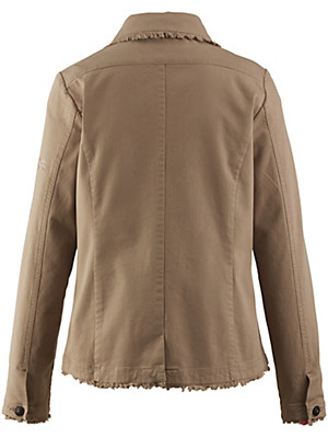 Looxent - Jacke mit Fransen-Abschlüssen