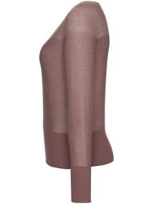 Looxent - Links gestrickter Rundhals-Pullover