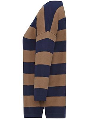 Looxent - Streifen-Pullover mit 3/4-Arm