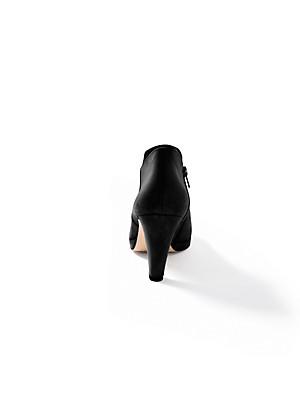 Paul Green - Ankle-Boot aus hochwertigem Ziegenveloursleder