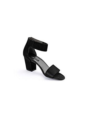 Paul Green - Sandalette aus Ziegenveloursleder