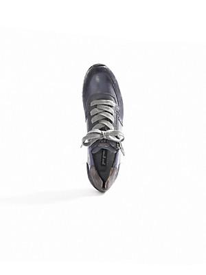 Paul Green - Sneaker aus Ziegenveloursleder mit Metallic-Effekt