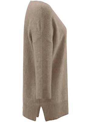 Peter Hahn Cashmere - Rundhals-Pullover aus 100% Kaschmir