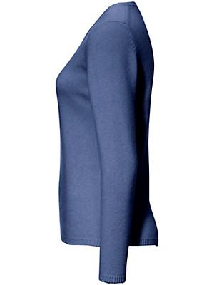 Peter Hahn Cashmere - Rundhals-Pullover aus reinem Kaschmir