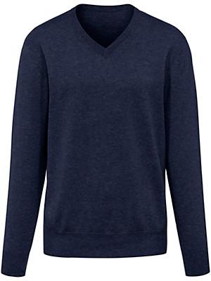 Peter Hahn Cashmere - V-Pullover 100% Kaschmir – Modell VALENTIN