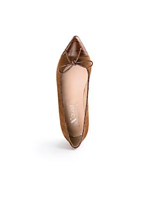 Peter Hahn exquisit - Ballerina aus Lammveloursleder