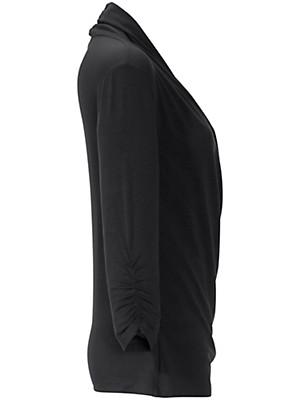 Peter Hahn - Figurschmeichelndes Shirt mit V-Ausschnitt