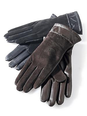 Peter Hahn - Handschuh aus Nappaleder und Veloursleder