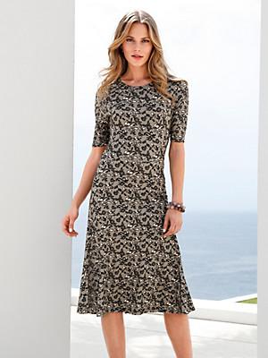 Peter Hahn - Jersey-Kleid mit 1/2-Arm